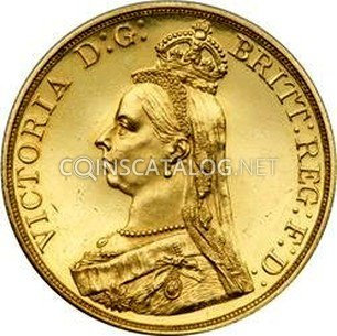 Great Britain Gold 5 Pounds
