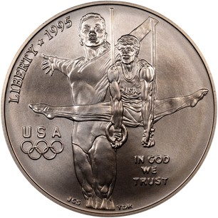 Usa Silver Dollar Quot 1996 Atlanta Olympics Gymnastics