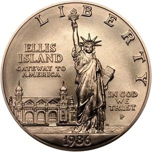 1906 Ellis Island One Dollar Coin Value - New Dollar
