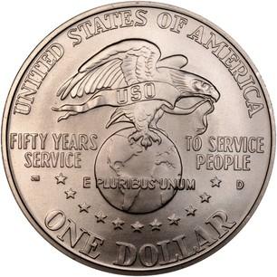 USA Silver Dollar