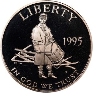 Usa Half Dollar Quot Civil War Battlefield Preservation Quot 1995