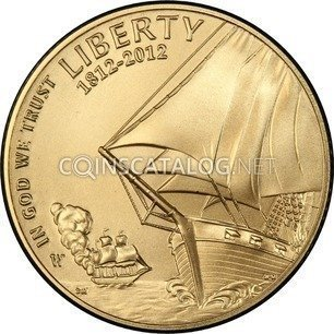 Usa Gold Five Dollars Quot Star Spangled Banner Quot 2012 Coin Value Km 531 Coinscatalog Net