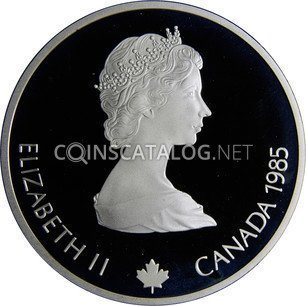 Canadian Silver 20 Dollars
