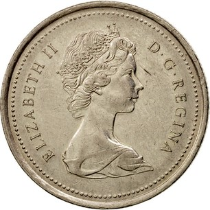 Canadian 25 Cents