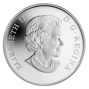 Peregrine Falcon 2011 $10 Fine silver