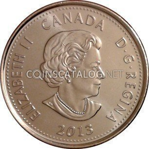 CANADA 2013 25¢ COIN 4th OF SERIES RED IN RCM WRAP WAR OF 1812 DE SALABERRY