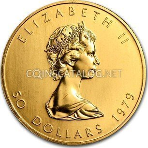Canadian 1 Oz Gold 50 Dollars Quot Maple Leaf Quot 1979 1982 Coin