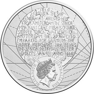 2016 20 CENTS PROOF OLD Coat of Arms ENCAPSULATED THE CHANGEOVER AUSTRALIA