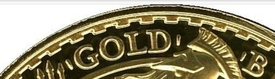 """Illustration of the specifics of the Gold 100 Pounds """"Britannia"""" 1998 - 2012 KM# 1011"""
