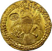 USA Brasher Doubloon 1787 KM# Tn51.1 * E UNUM * PLURIBUS EB coin obverse