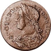 USA Connec 1787 KM# 8.2 Connecticut Coppers * AUCTORI: * * CONNEC : * coin obverse