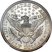 USA Half Dollar Barber 1895 S KM# 116 ∙ UNITED STATES OF AMERICA ∙ HALF DOLLAR ∙ E PLURIBUS UNUM coin reverse