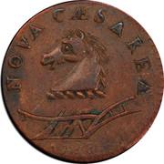 USA Nova Caesarea New Jersey 1788 KM# 16 NOVA CAESAREA coin obverse