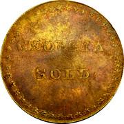 USA Ten Dollars (1830) KM# 82 Templeton Reid (Georgia) GEORGIA GOLD coin obverse