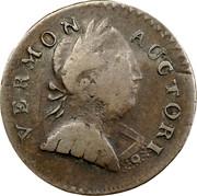 USA Vermon 1787 KM# 7 Vermont Coppers VERMON AUCTORI coin obverse
