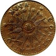 USA Cent 1783 KM# EA6.2 Nova Constellatio NOVA • CONSTELLATIO coin obverse