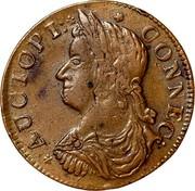 USA Connec 1787 KM# 8.4 Connecticut Coppers * AUCTOPI: * * CONNEC : coin obverse