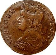 USA Connec 1787 KM# 8.5 Connecticut Coppers AUCTOBI: CONNEC : coin obverse