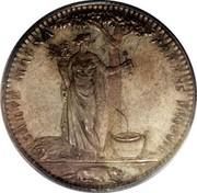 USA Half Dollar 1796 KM# Tn87.1 Castorland SALVE MAGNA PARENS FRUGUM coin reverse