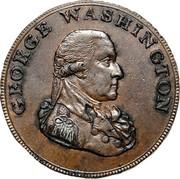 USA Halfpenny 1795 KM# Tn76.4 Washington Pieces GEORGE WASHINGTON coin obverse