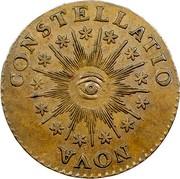 USA Immune Columbia 1785 KM# EA17 Immune Columbia NOVA ∙ CONSTELLATIO coin reverse