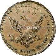 USA Mott Token 1789 KM# Tn52.3 Mott Tokens CLOCKS, WATCHES, JEWELRY, SILVER WARE, CHRONOMETERS, coin reverse