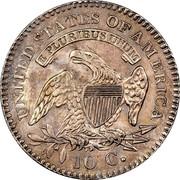 USA 10 C. Liberty Cap Dime 1823/22 small E's KM# 42 UNITED STATES OF AMERICA E PLURIBIS UNUM 10 C. coin reverse