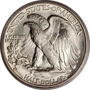 USA Half Dollar Walking Liberty 1935 D KM# 142 UNITED ∙ STATES ∙ OF ∙ AMERICA HALF DOLLAR E PLURIBUS UNUM coin reverse