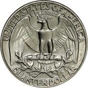 USA Quarter Washington 1971 KM# 164a UNITED STATES OF AMERICA QUARTER DOLLAR E PLURIBUS UNUM coin reverse