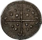 UK 1/2 Penny Elizabeth I 1601 Sixth Coinage (1601-02). KM# 1 - coin reverse