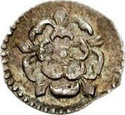 UK 1/2 Penny James I 3rd coinage no mintmark ND Third Coinage (1619-25). KM# 54 coin obverse