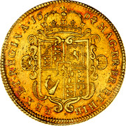 UK 2 Guineas William and Mary 1694/3 KM# 482.1 MAG∙BR∙FR∙ET∙HIB ∙ REX∙ET∙REGINA∙*YEAR*∙ coin reverse