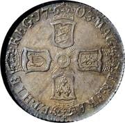 UK 6 Pence Anne VIGO 1703 KM# 516.1 MAG∙BR∙FRA∙ET∙HIB REG ∙17 03∙ coin reverse