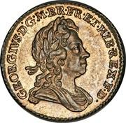 UK 6 Pence George I 1723 KM# 553.2 GEORGIVS∙D:G∙M∙BR∙FR:ET:HIB∙REX∙F∙D∙ coin obverse