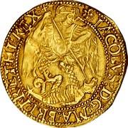 UK Angel James I ND KM# 44 ∙IACOBVS:D:G:MA:BRI:FR:ET:HI:REX∙ coin obverse