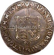 UK Crown (1601) Sixth Issue. Dav. #3757. KM# 7 Pre-Decimal coinage coin reverse