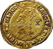 UK Double Crown (1625-1642) KM# 146 Pre-Decimal coinage coin obverse