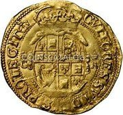 UK Double Crown (1625-1642) KM# 146 Pre-Decimal coinage coin reverse