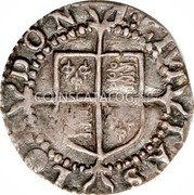 UK Penny (1601) Sixth Coinage (1601-02). KM# 2 Pre-Decimal coinage coin reverse
