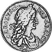 UK Shilling Charles II 1666 KM# 418.3 CAROLVS∙II∙ DEI∙GRATIA coin obverse