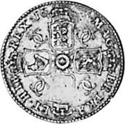 UK Shilling Charles II 1666 KM# 418.3 MAG BR∙FRA ET∙HIB REX∙1666∙ CC CC CC CC coin reverse