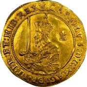UK Triple Unite Charles I 1642 Shrewsbury KM# 232 CAROLVS∙D:G∙MAG:BRIT:FR:ET:HIB:REX∙: coin obverse