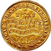 UK Triple Unite KM# 234 Unite Coins CAROLVS∙D:G∙MAGN:BRIT:FRAN:ET:HIB:REX∙: coin obverse