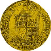 UK Unite Charles I (1642) Shrewsbury KM# 337 FLORENT CONCORDIA REGNA coin reverse