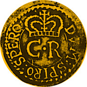 UK Unite Charles I 1648 Second Issue: In the name of Charles II. Legend varieties exist. KM# 385 DVM:SPIRO:SPERO∙ C∙R coin obverse