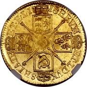 UK 1/2 Guinea George I Elephant and castle below head 1718 KM# 541.2 BRVN ET∙L∙DVX S∙I∙R∙A∙TH ET∙EL ∙17 18∙ coin reverse