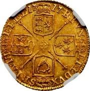 UK 1/2 Guinea George I no elephant and castle below head 1717 KM# 541.1 BRVN ET ∙ L ∙ DVX S ∙ R ∙ I ∙ A ∙ TH ET ∙ EL ∙ coin reverse