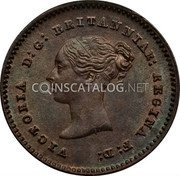 UK 1/4 Farthing 1852 KM# 737 Pre-Decimal coinage coin obverse
