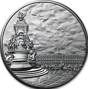 UK 100 Pounds Buckingham Palace 2015 British Royal Mint Proof KM# 1308 LC.GD coin reverse