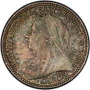 UK 2 Pence Victoria 1898 Prooflike KM# 776 VICTORIA∙DEI∙GRA∙BRITT∙REGINA∙FID∙DEF IND∙IMP∙ TB coin obverse